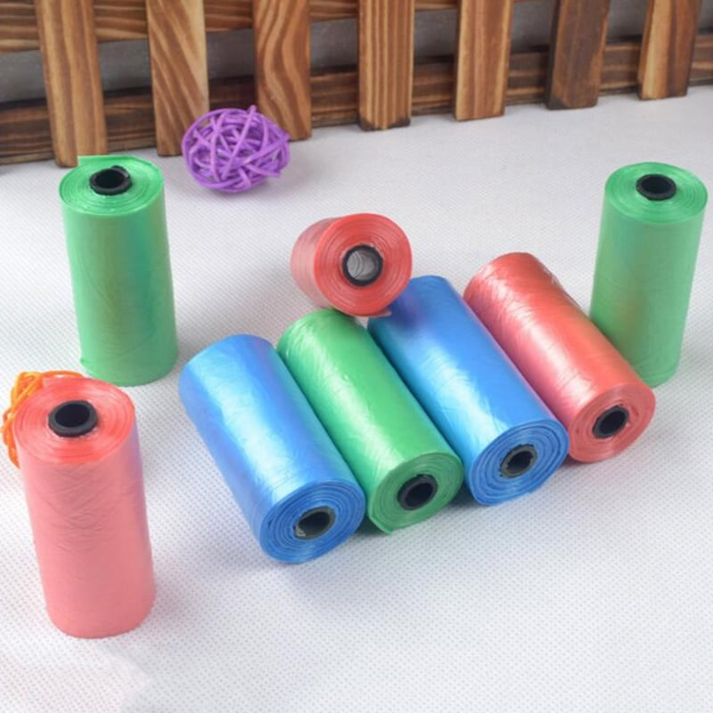 200pc/10 Eco-Friendly Pet Poop Bags Rolls