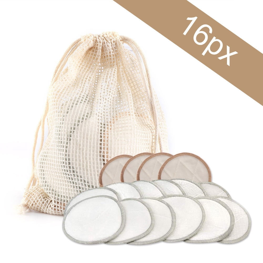Bamboo Cotton Reusable Makeup Remover Pads