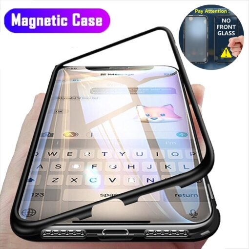 Magnetic Adsorption Metal Case For iPhone