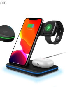 15W Fast Wireless Charger Stand For iPhone