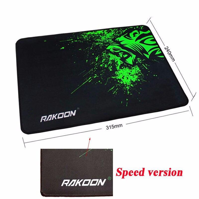 Rakoon Extra Large Mouse Pad Big Computer Gaming Mousepad Anti-slip Natural Rubber with Locking Edge Gaming Mouse Mat