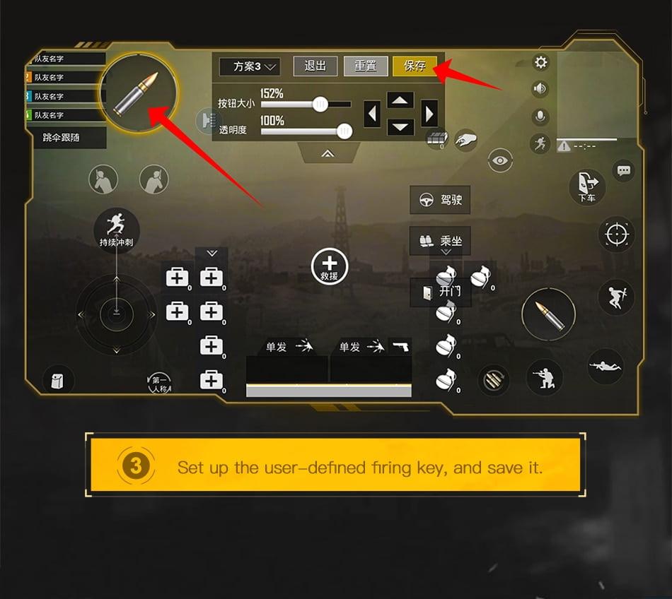 Baseus Gamepad Joystick For PUBG Joypad Trigger Fire Button Aim L1 R1 Key L1R1 Shooter Controller For PUBG Mobile Phone Game Pad