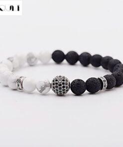 Lava Natural Stone Diffuser Bracelets