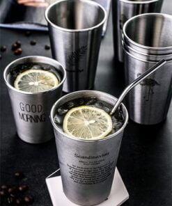 Stainless Steel Spray Paint Beer Cup