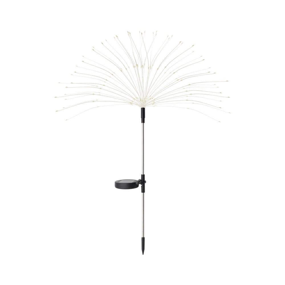 Outdoor LED Solar Flashing Fireworks Lights 90/150 LEDs Waterproof String Fairy Light For Home Garden Christmas Decoration