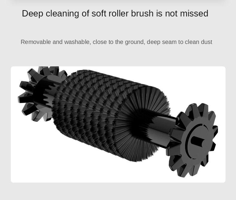 Broom Robot Vacuum Cleaner Sweeper Floor Home Kitchen Mop Sweeping Machine