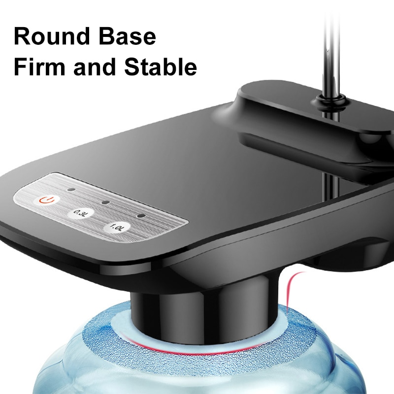 Electric Portable Rechargeable Water Pump Dispenser Electric Auto Bucket Bottle Dispenser USB Water Pump