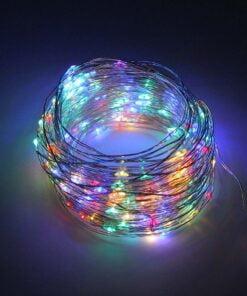 Solar String Fairy Flashing Lamps