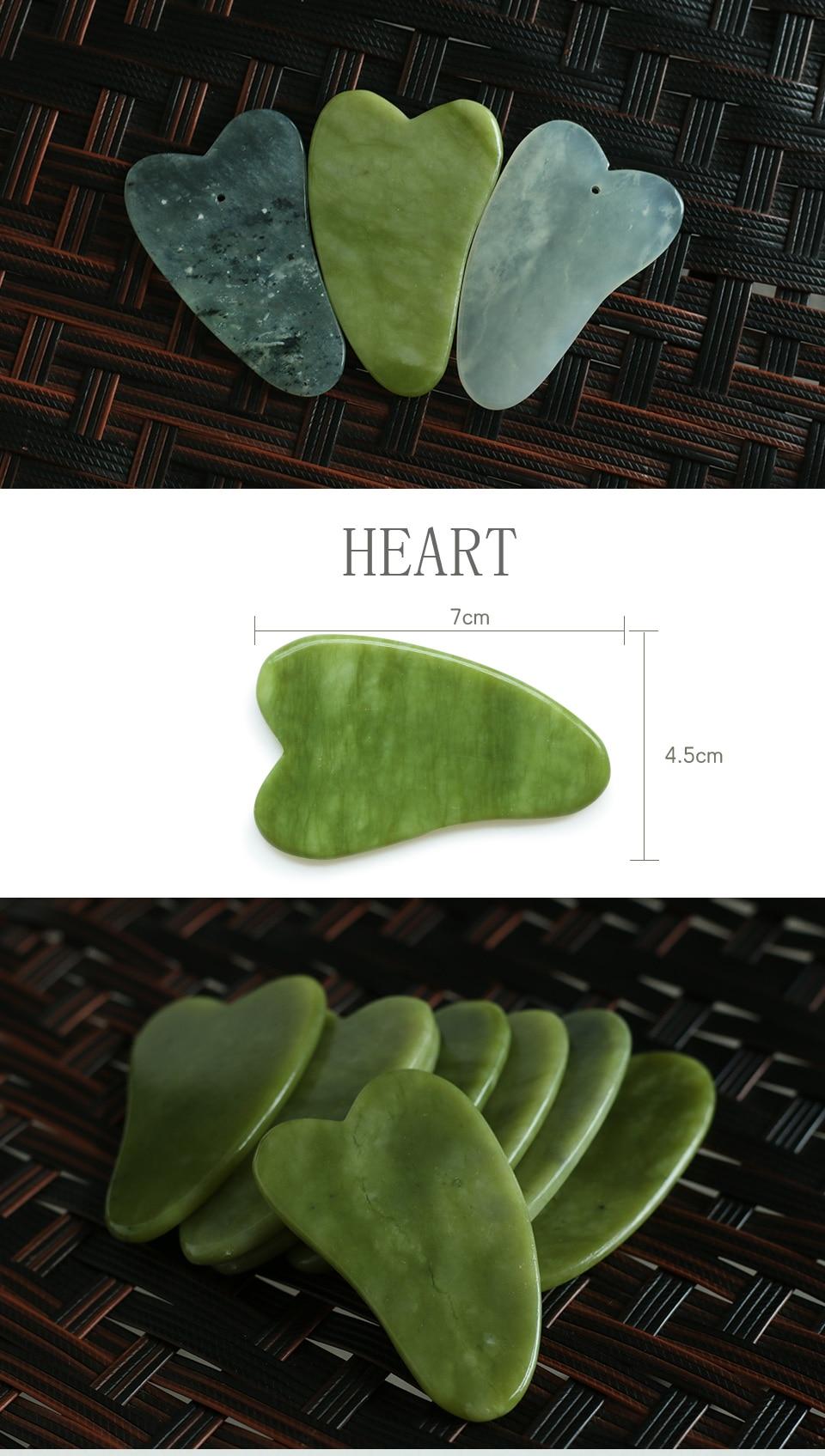 Natural Jade Stone Facial Roller