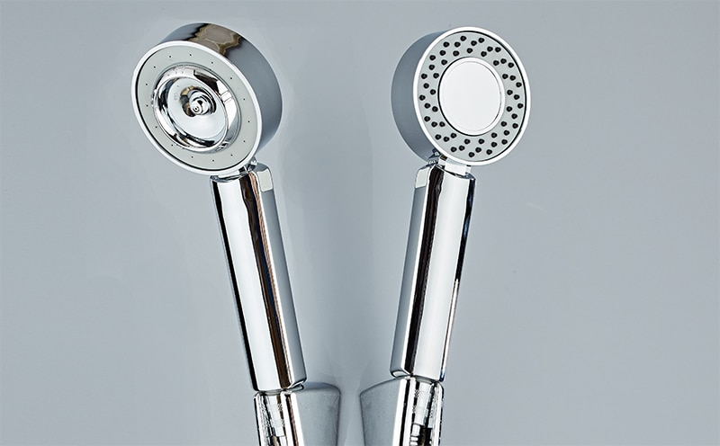 Double-sided Dual Function Shower Heads Water Saver of 50%