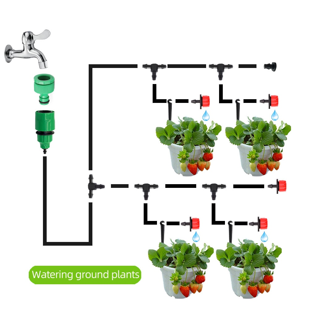 10-50M Automatic Micro Drip Irrigation System - Save Water